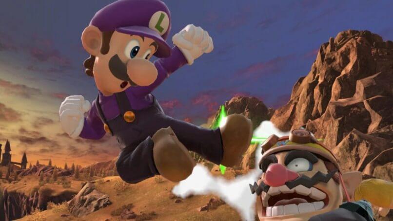 Luigi v Wario