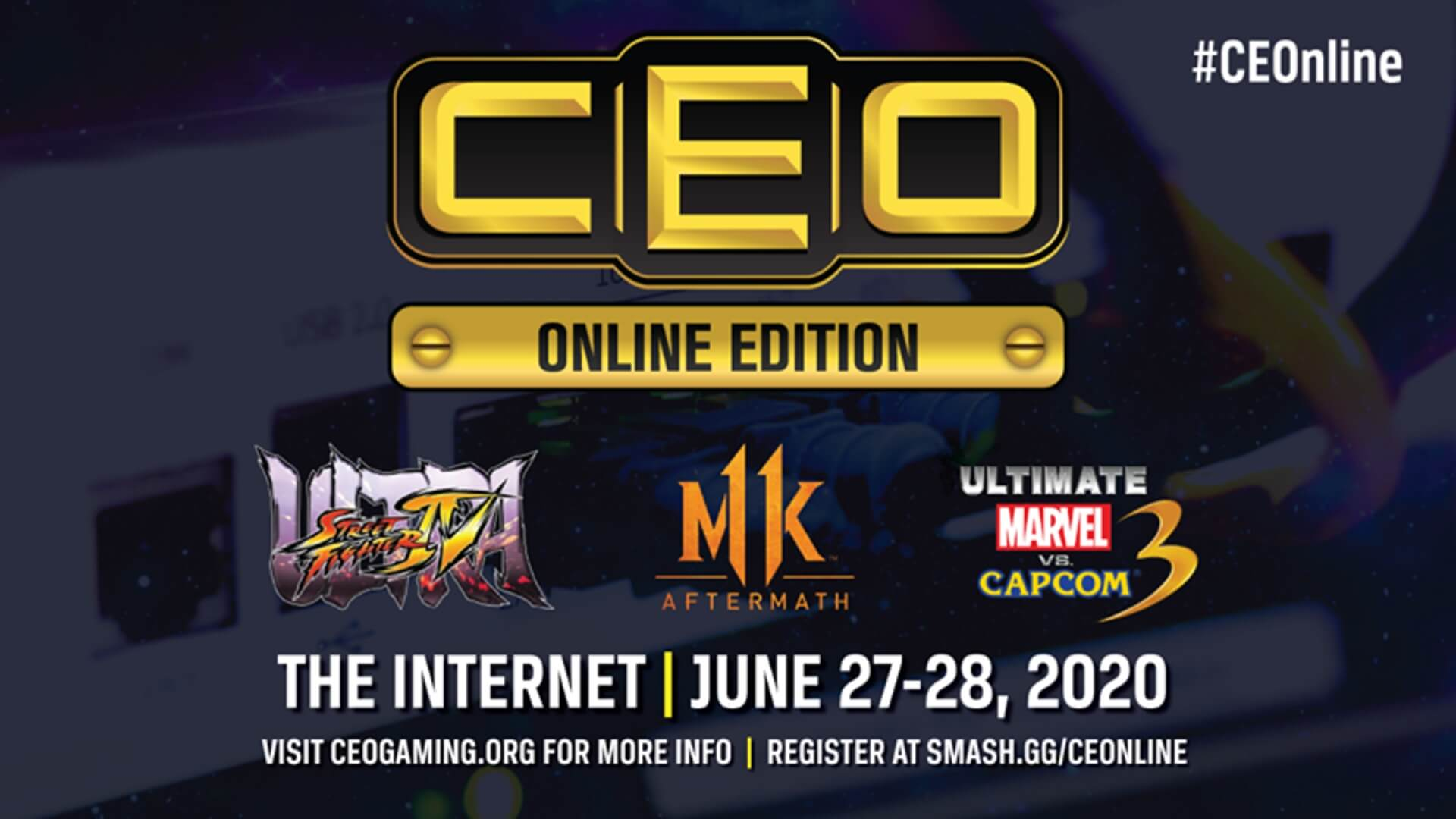 CEOnline announced with a lineup of 3 games