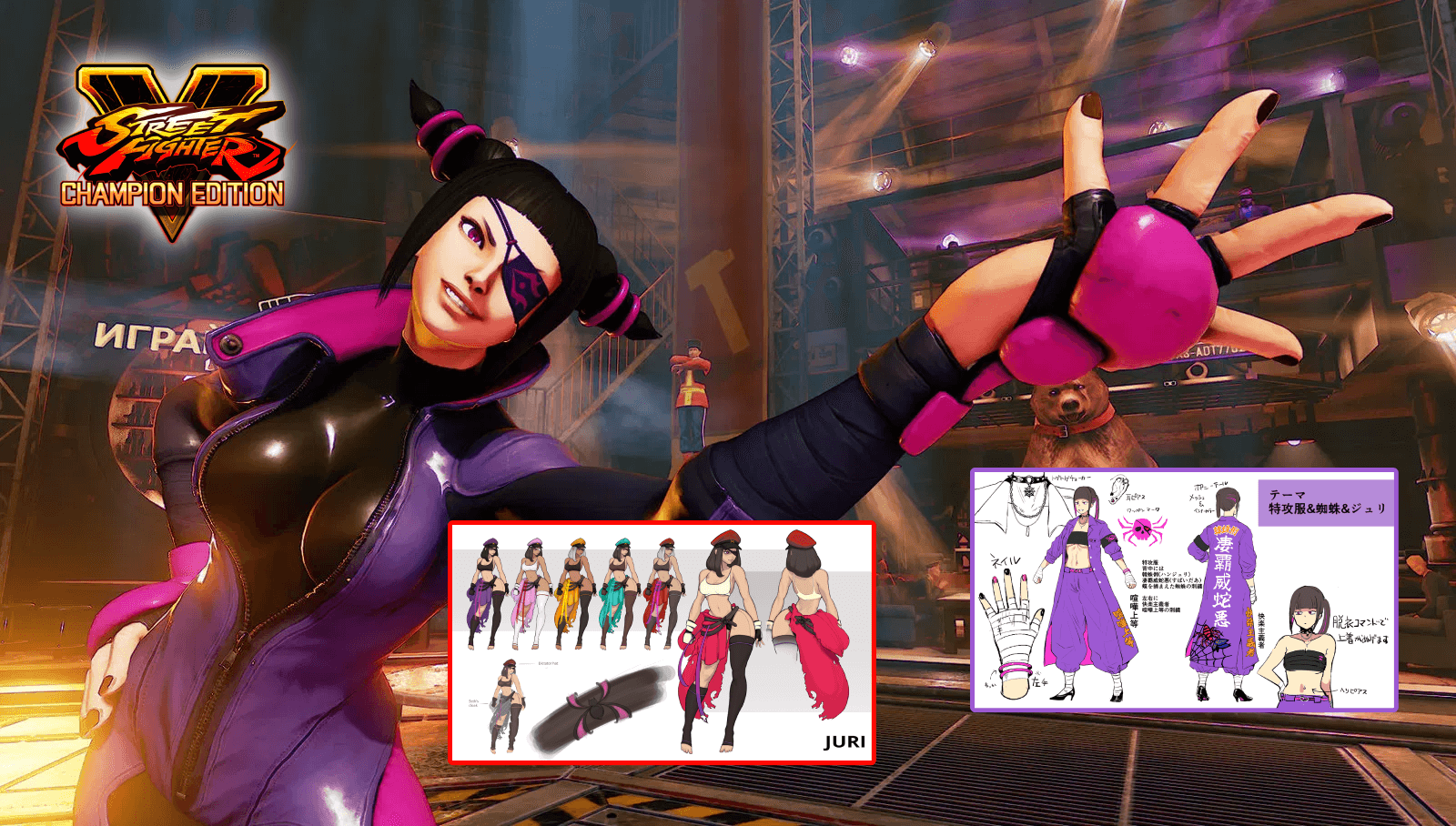 Two Winners of the Street Fighter V: Costume Design Contest