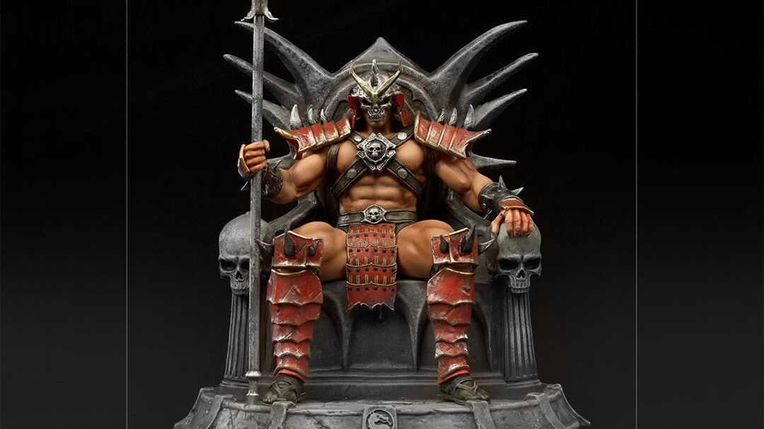 Iron Studios showcases new Shao Kahn and Goro statues for Pre-order