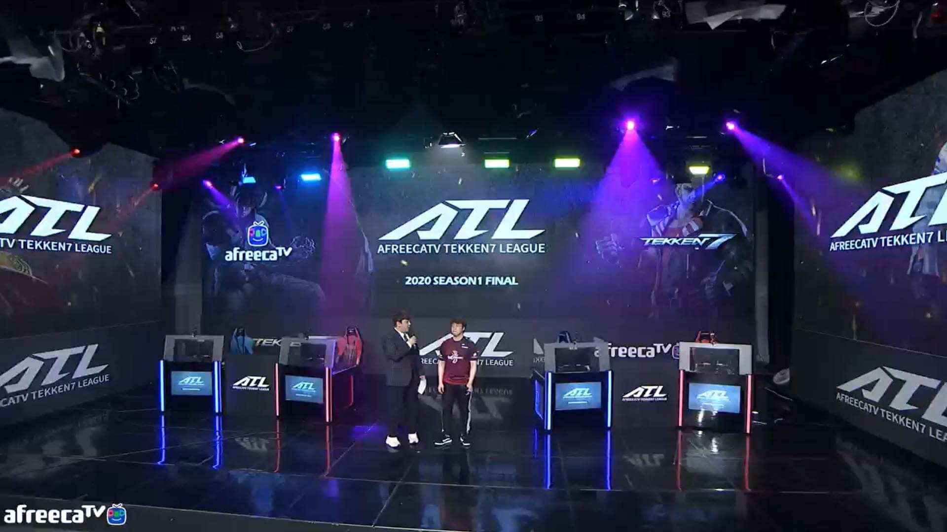 Knee Wins the First Season of Afreeca Tekken 7 League