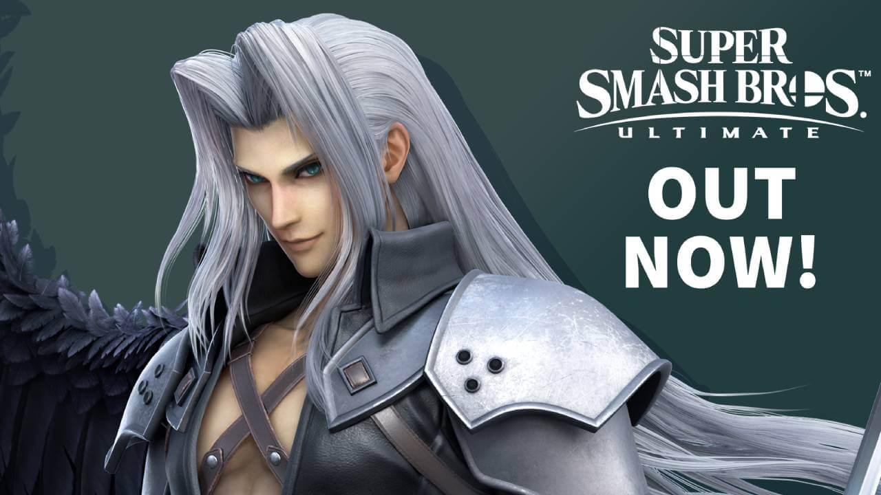 Sephiroth in Smash Ultimate is Available Now