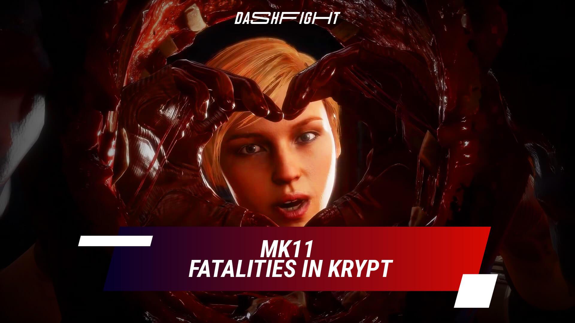 MK11 Krypt Fatalities