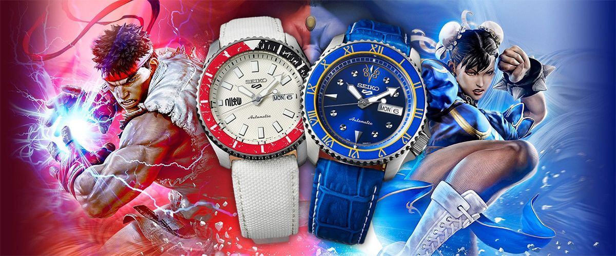 Unique watches will be released for Street Fighter V fans