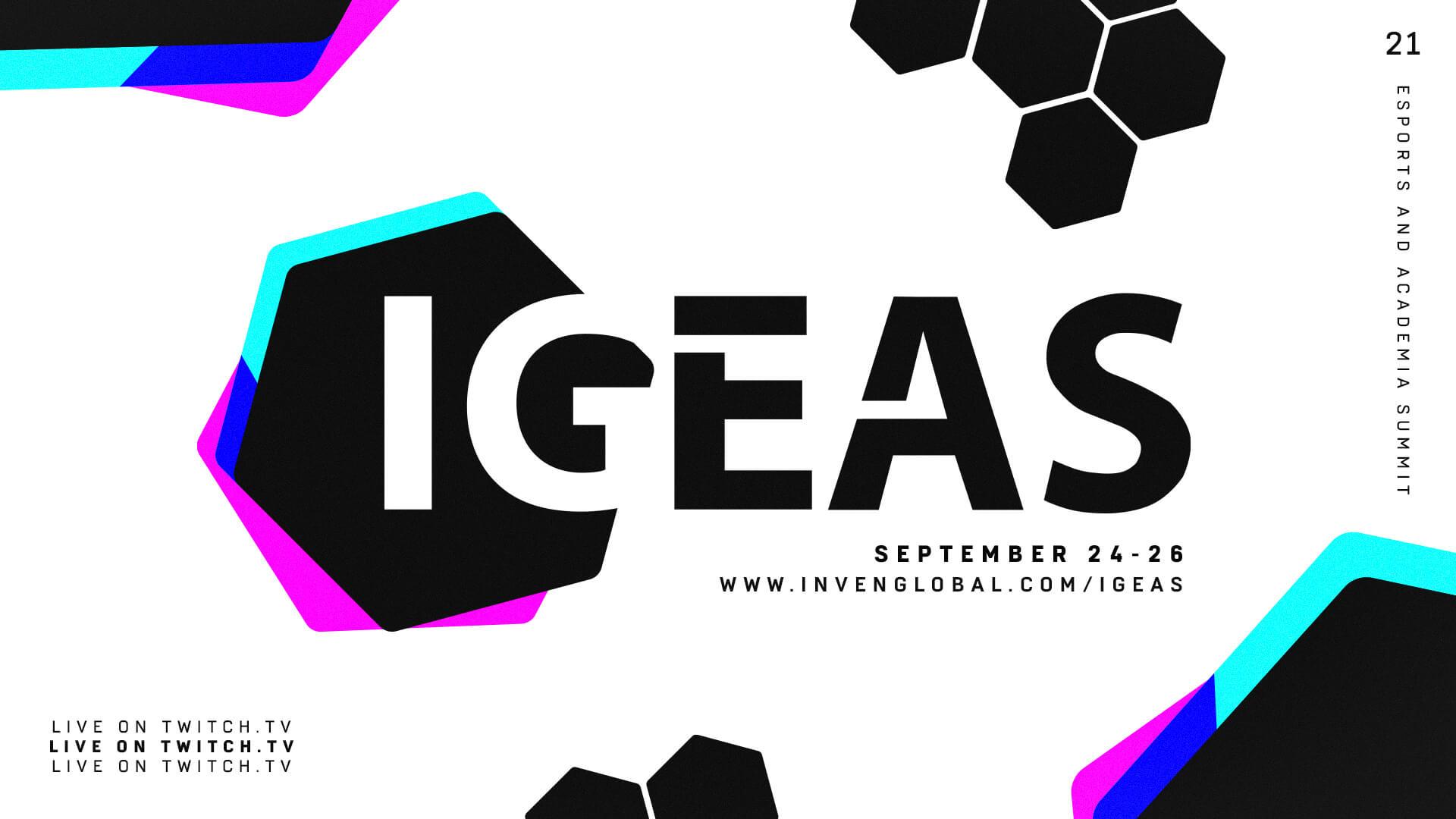 Inven Global Esports & Academia Summit Tournament Schedules