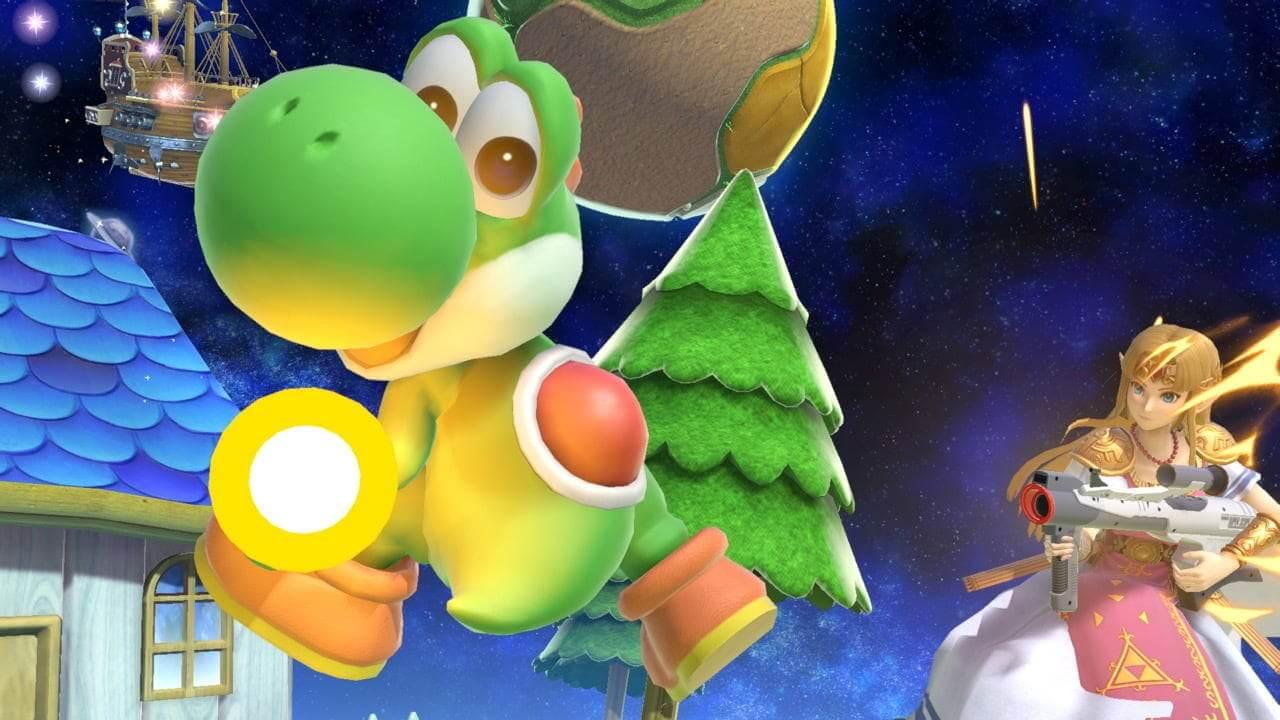 Yoshi v Zelda