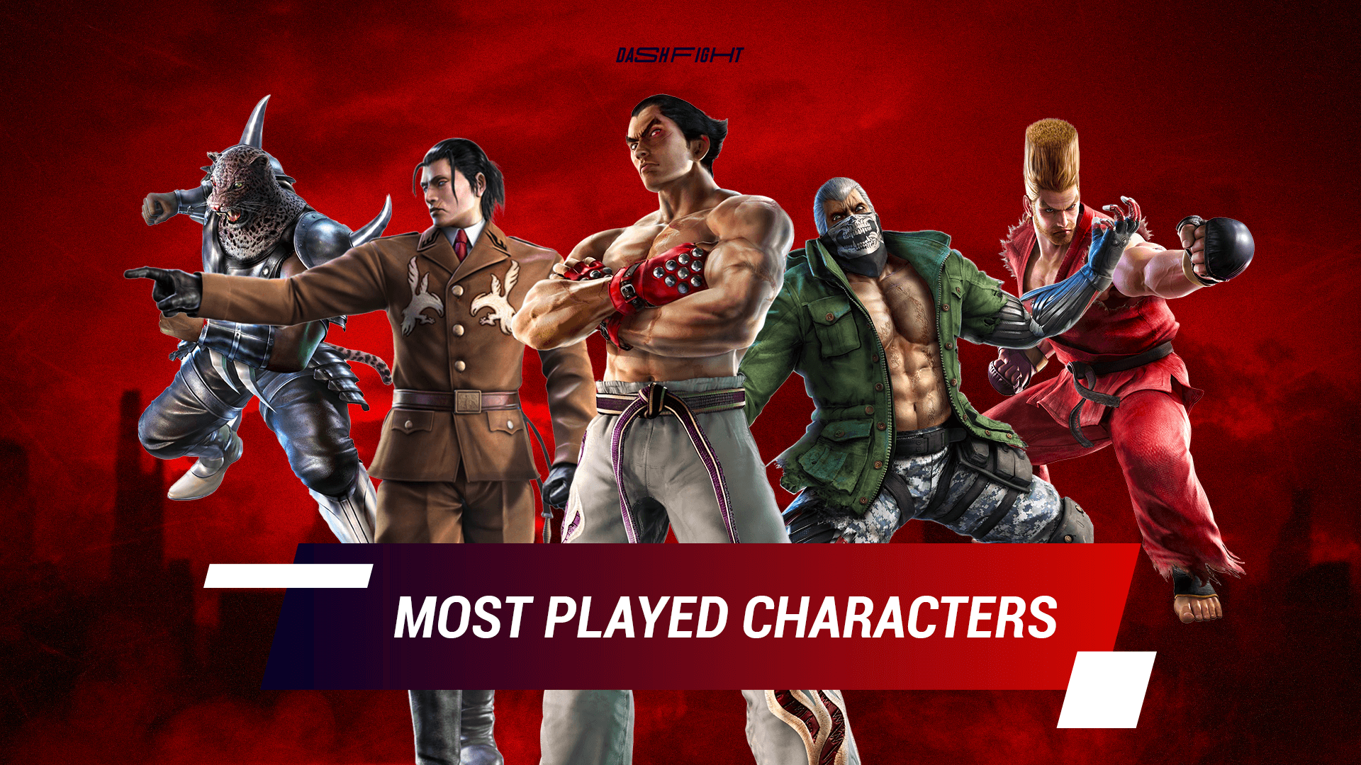 Tekken 7 - Best Characters by Player's Choice
