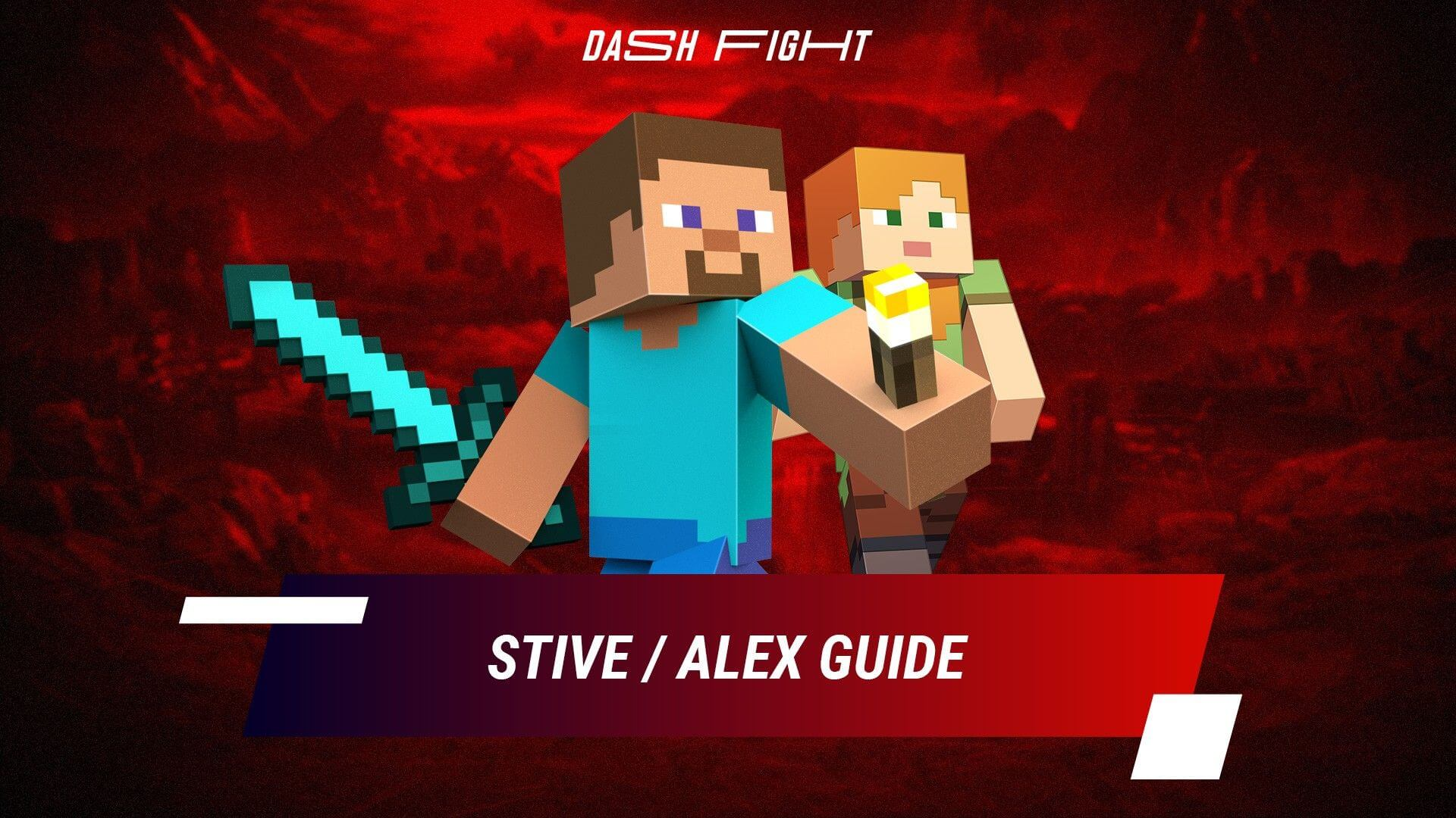 Smash Ultimate: Steve and Alex Guide - Combos and Move List