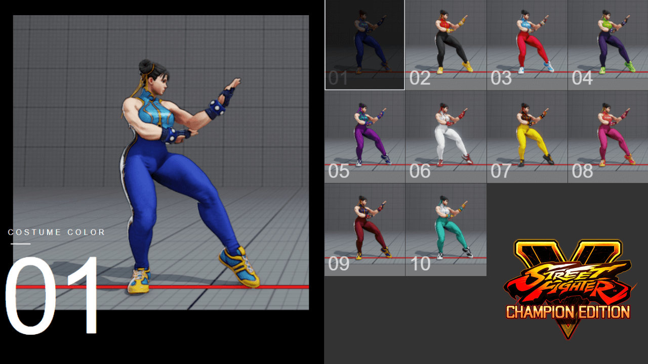 Street Fighter 5: How to unlock Costumes and Colors