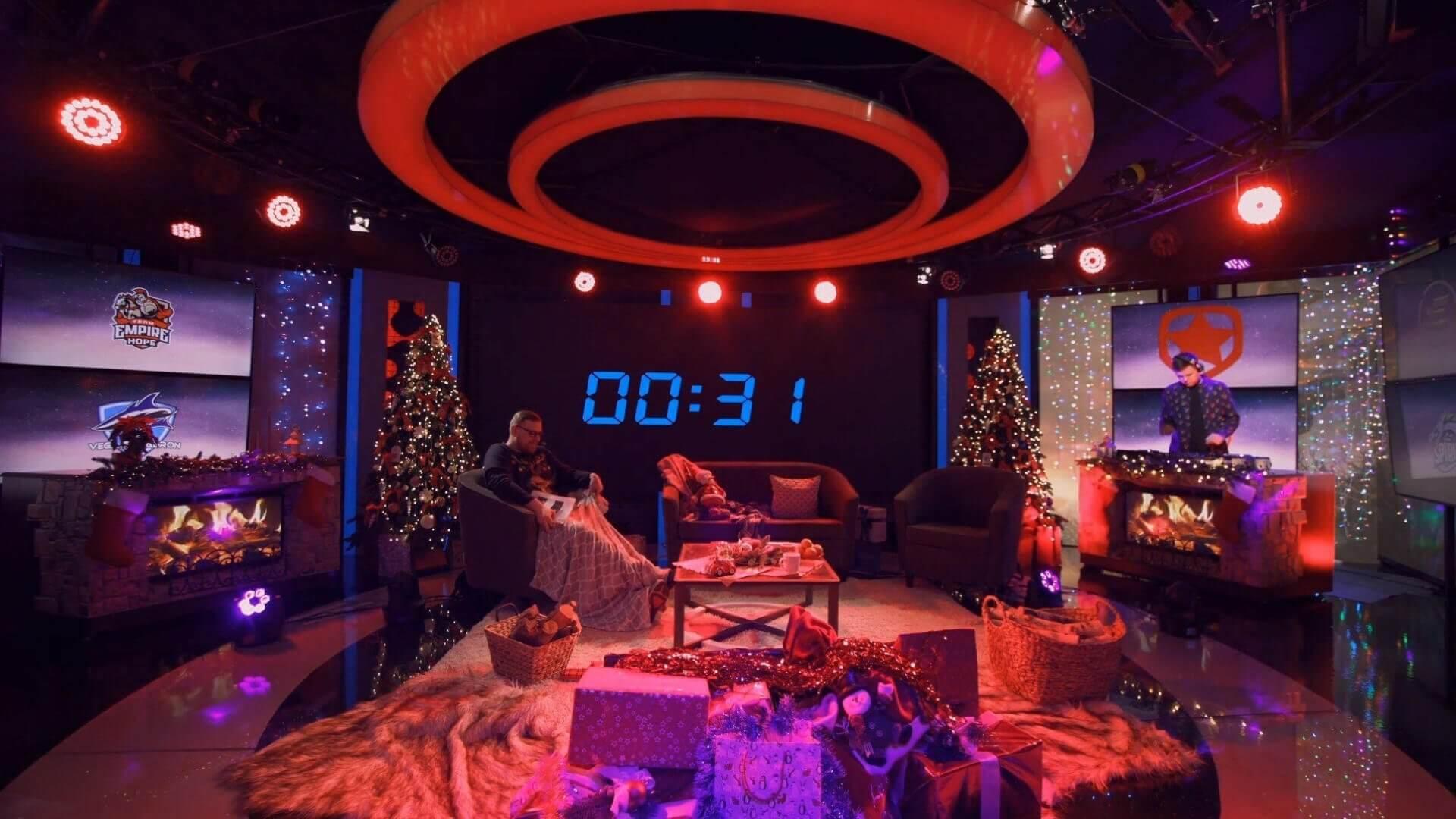 WePlay! Dota 2 Winter Madness studio