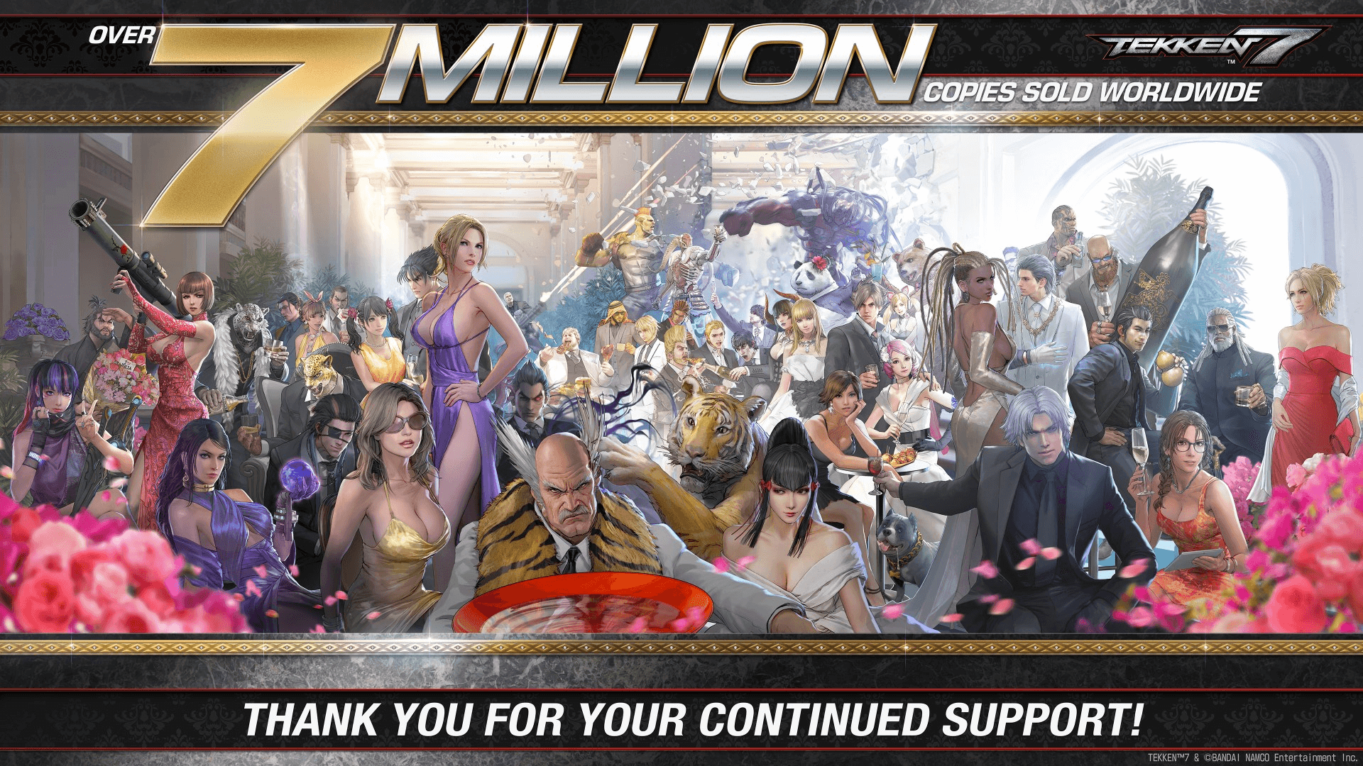 Tekken 7 Has Reached 7 Million Sales Worldwide