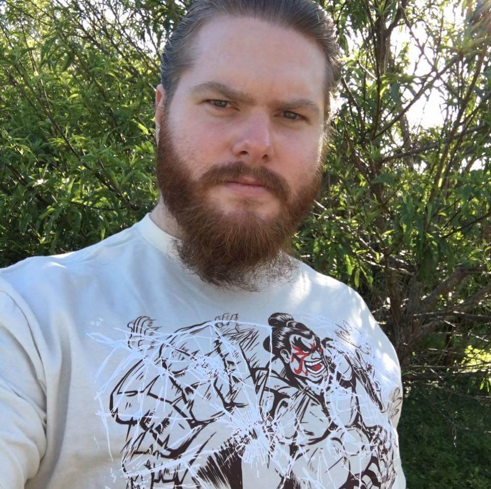 Brandon Alexander in a Ganryu shirt