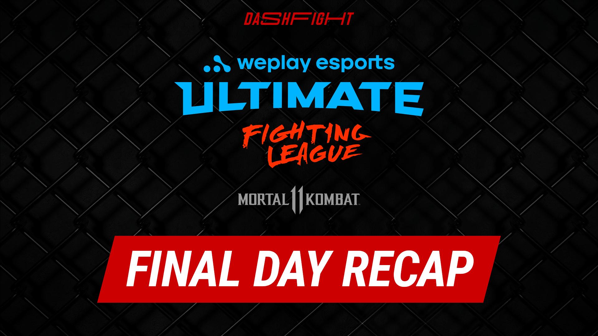 WUFL MK11 Final Day Recap