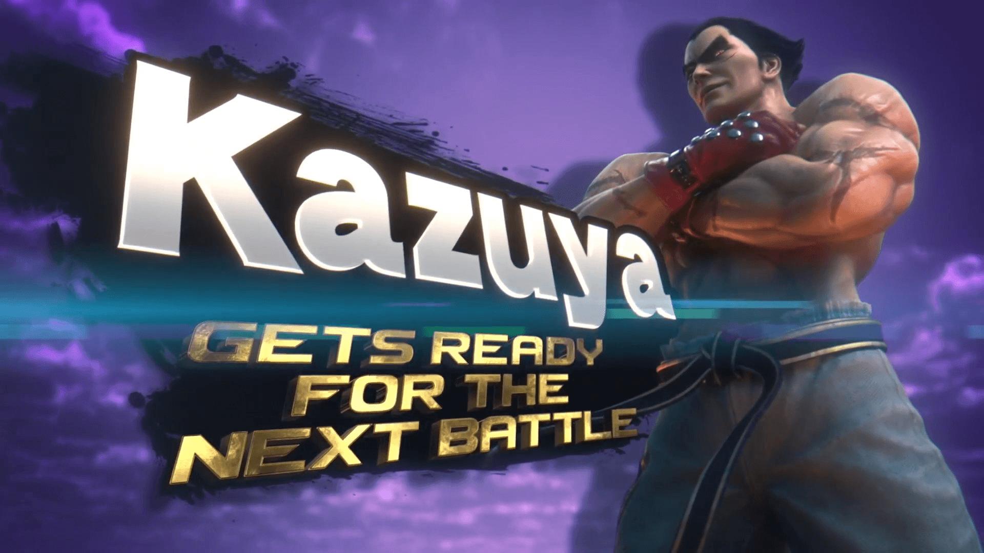 New Super Smash Bros Character! Kazuya Mishima