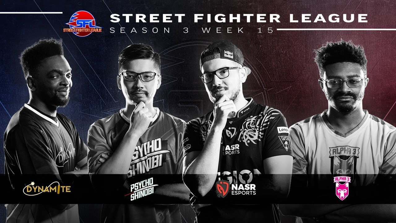 Dynamite Made It To Playoffs - Street Fighter League Week 15
