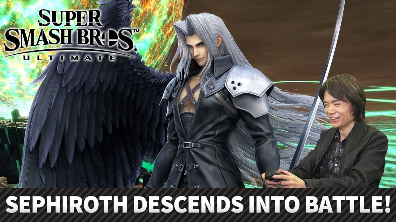 Sephiroth will be available on December 23rd but you could play it now