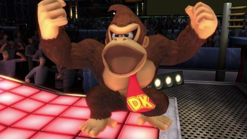 Donkey Kong party animal