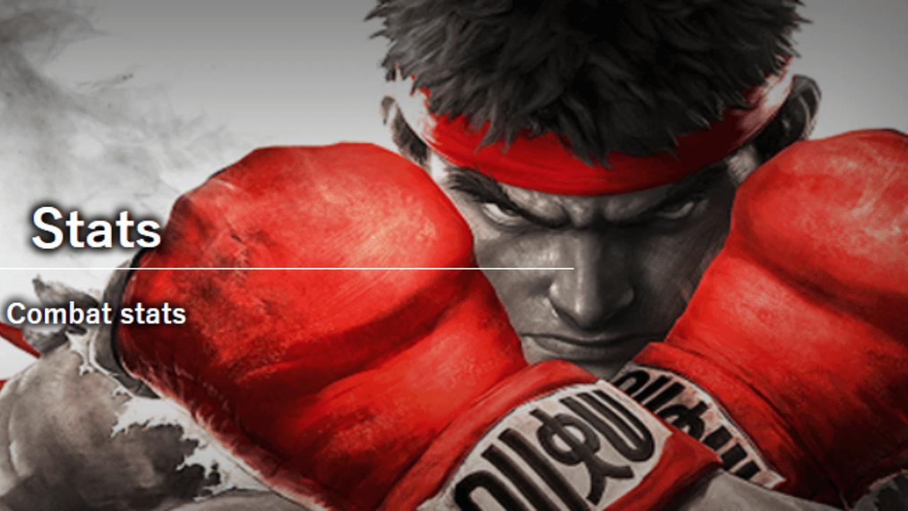 Street Fighter V Stats from September 2020