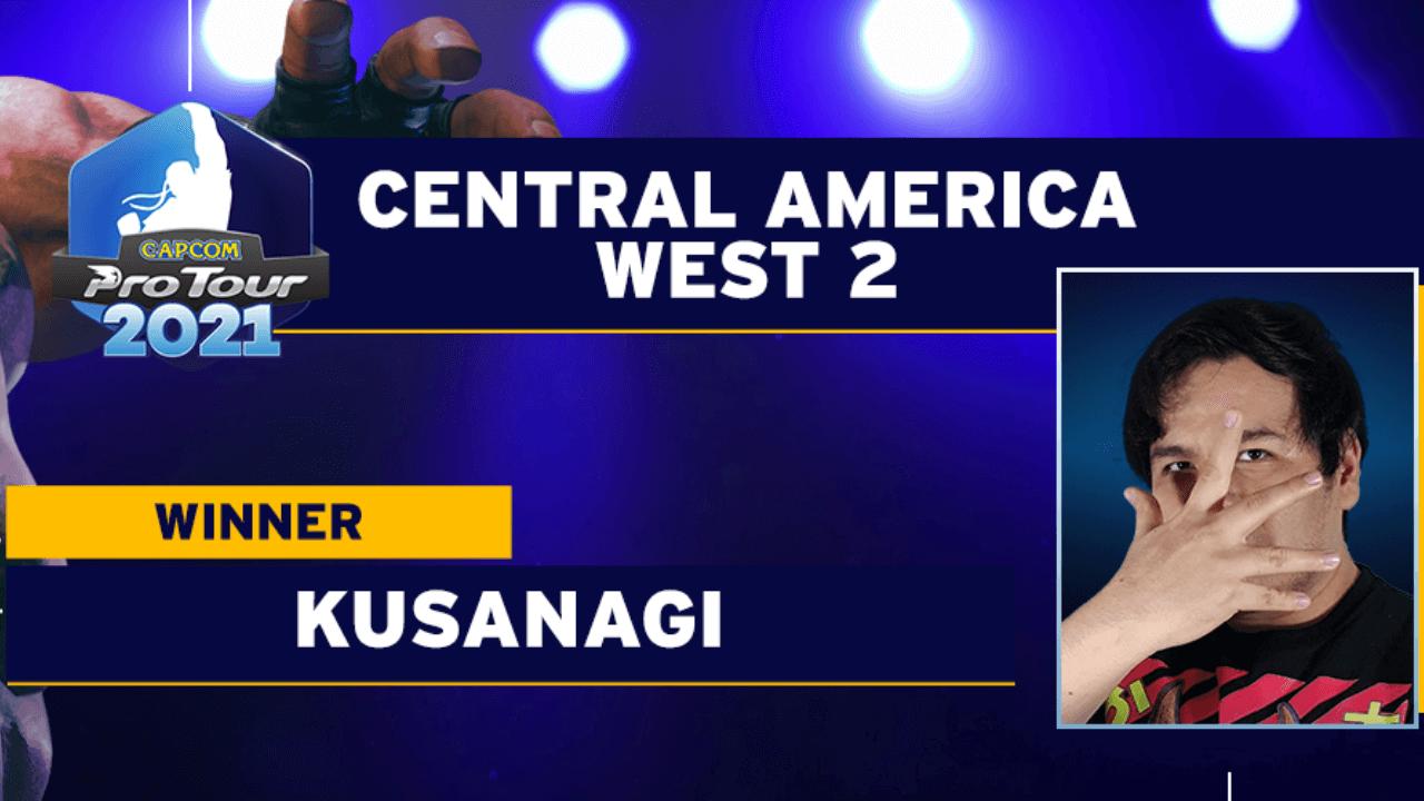 Kusanagi Wins SFV Capcom Pro Tour Central America West 2