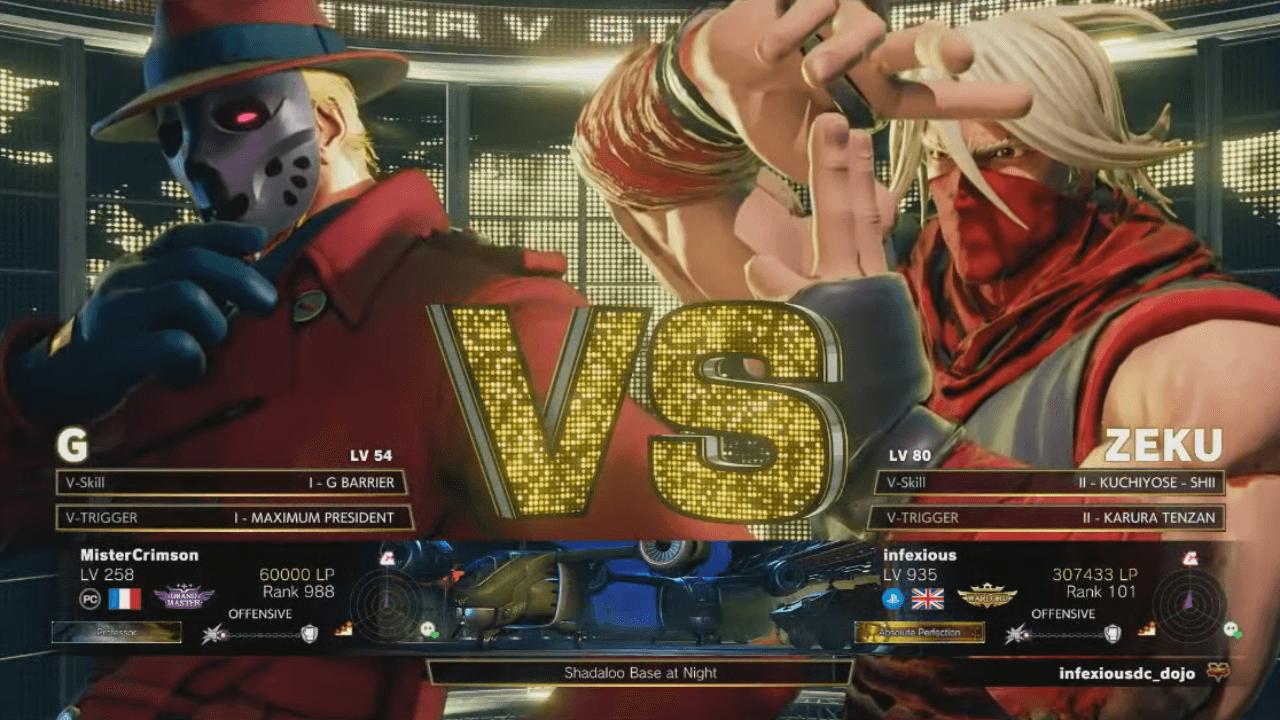 Infexious Wins Capcom Pro Tour Europe West 2