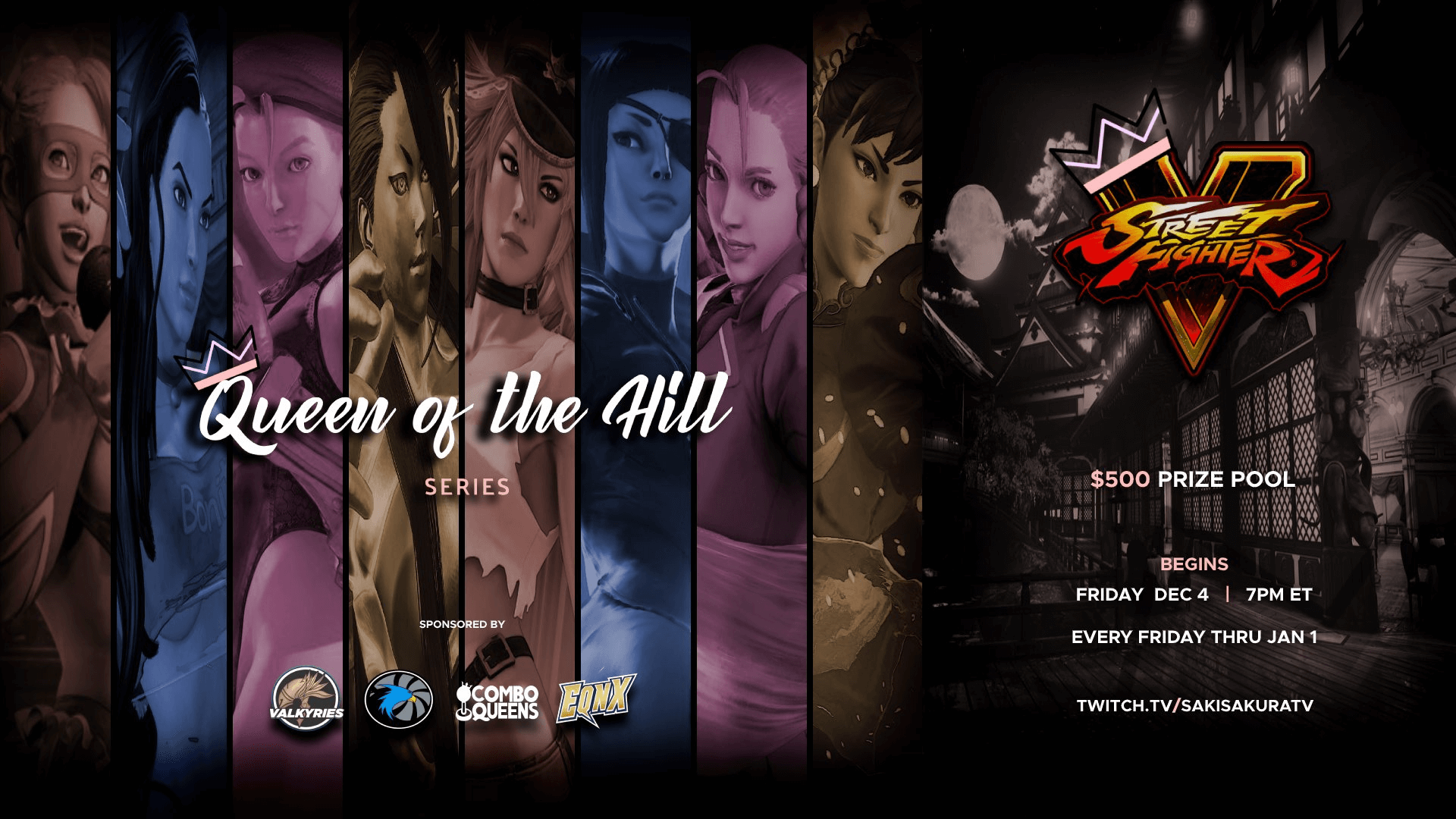 Queen of the Hill - an SF5 Tournament for Girls in Fighting
