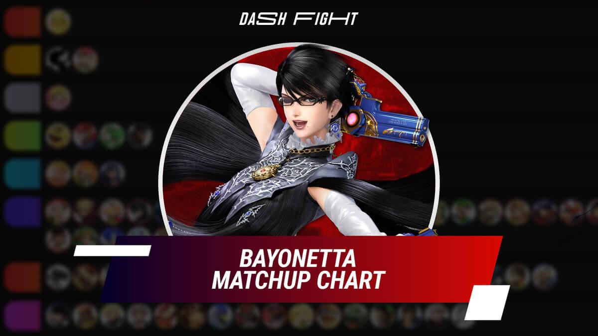 Smash Ultimate: Bayonetta Counters - Matchup Chart