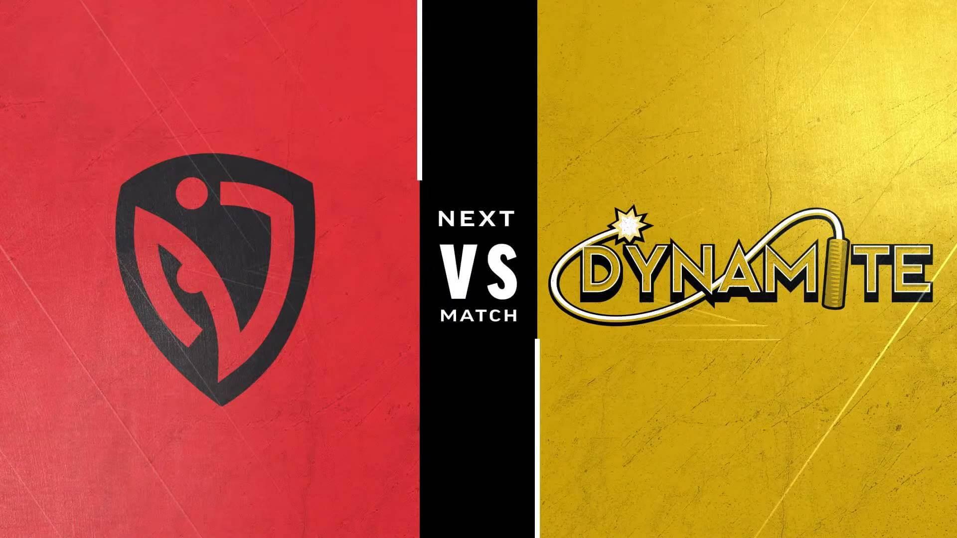 Street Fighter Leaguer Pro-US - NASR vs Dynamite team logos