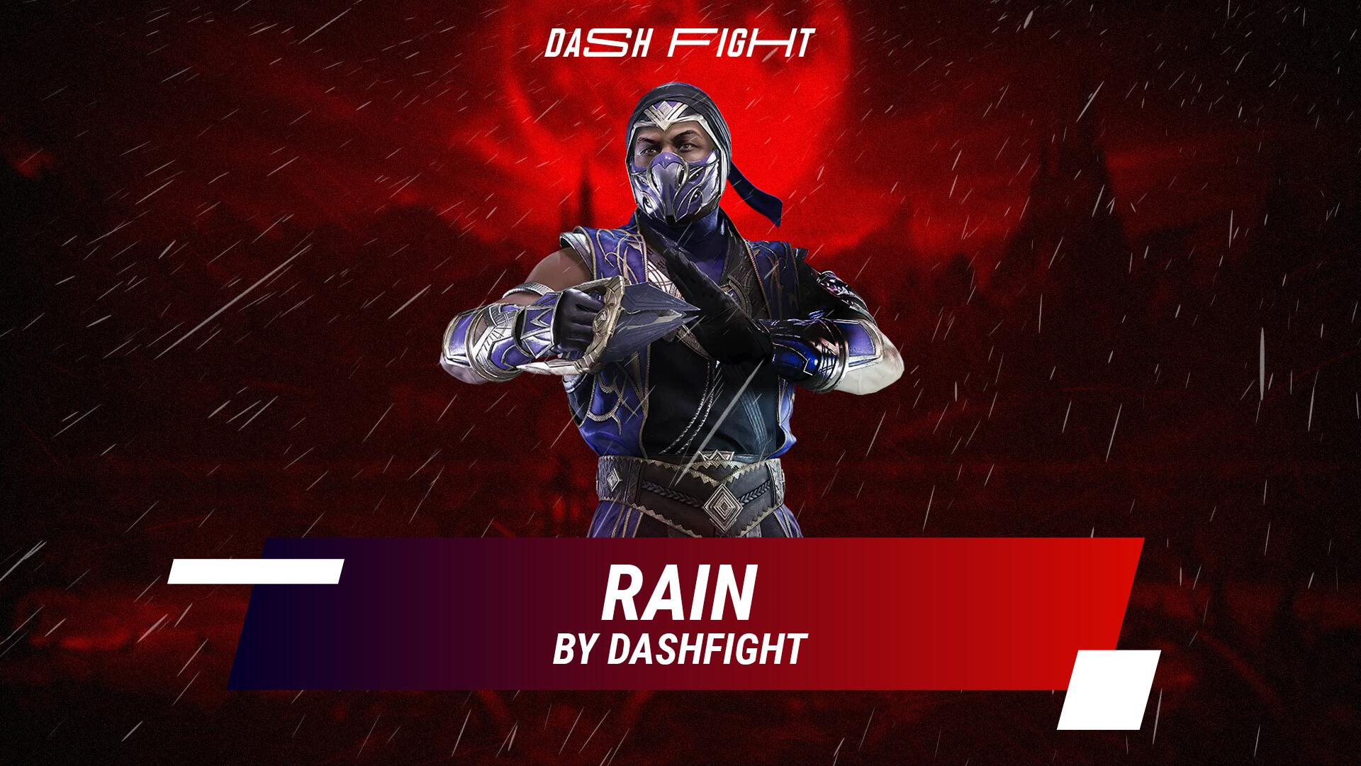 Mortal Kombat 11 Rain Move List, Fatality and Brutality
