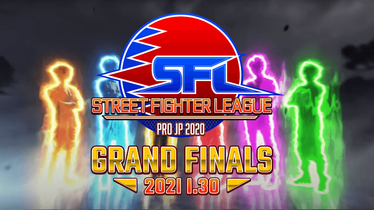 Japanese Titans Fight at Grand Final of Street Fighter League Pro-JP