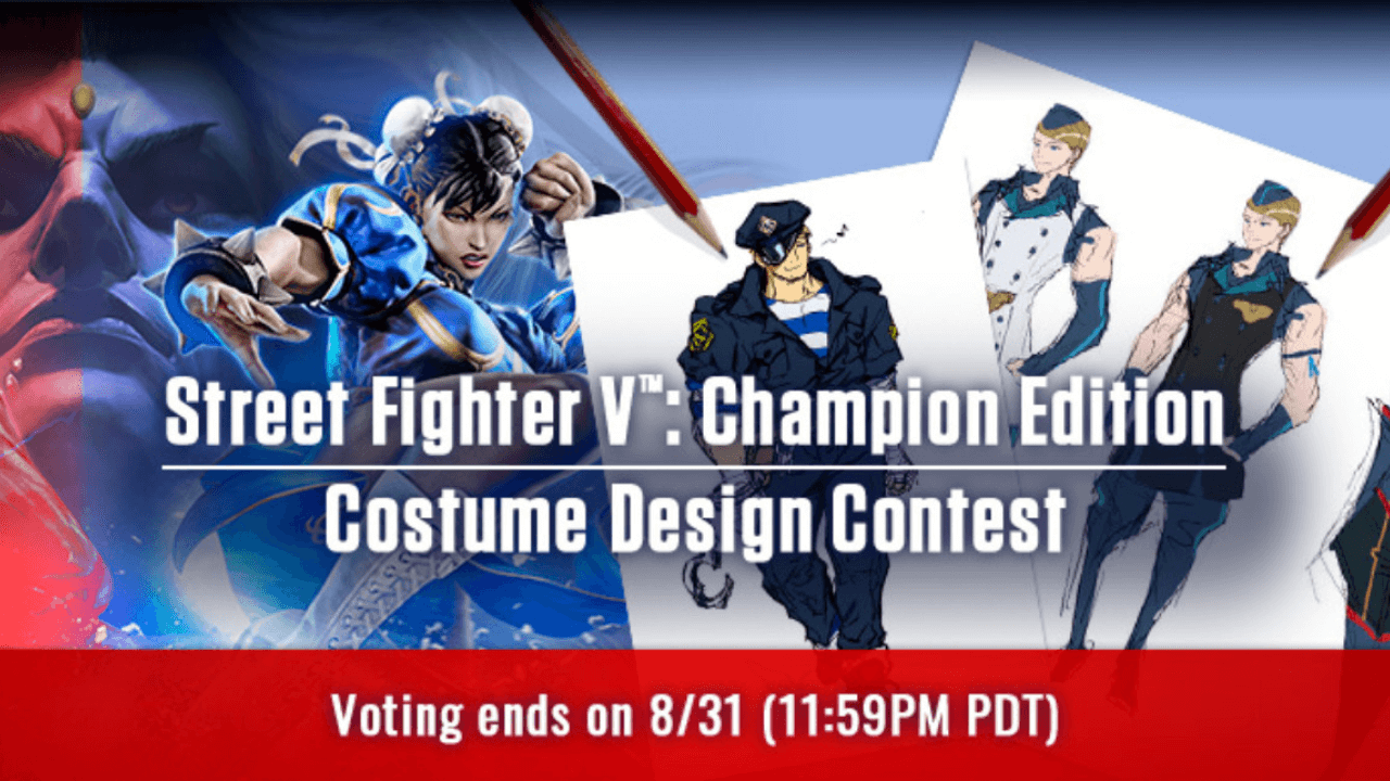 Vote for the Best Costume for Street Fighter V
