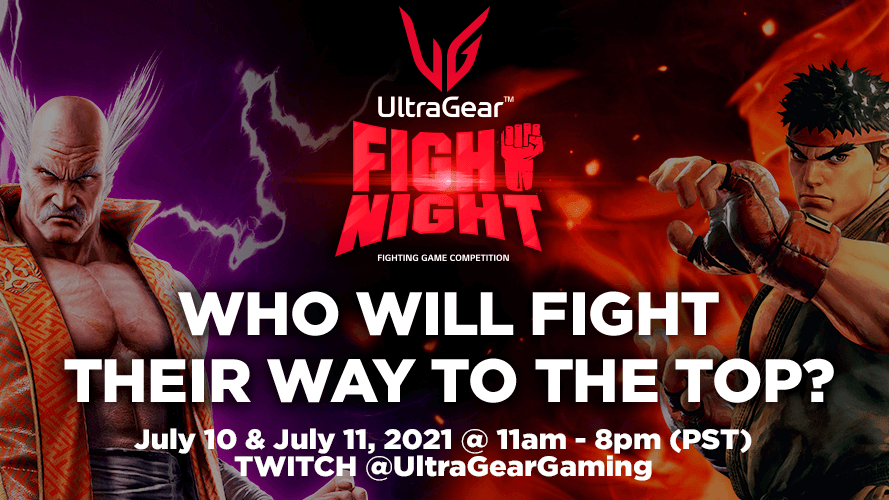 LG UltraGear Fight Night Tekken 7 recap