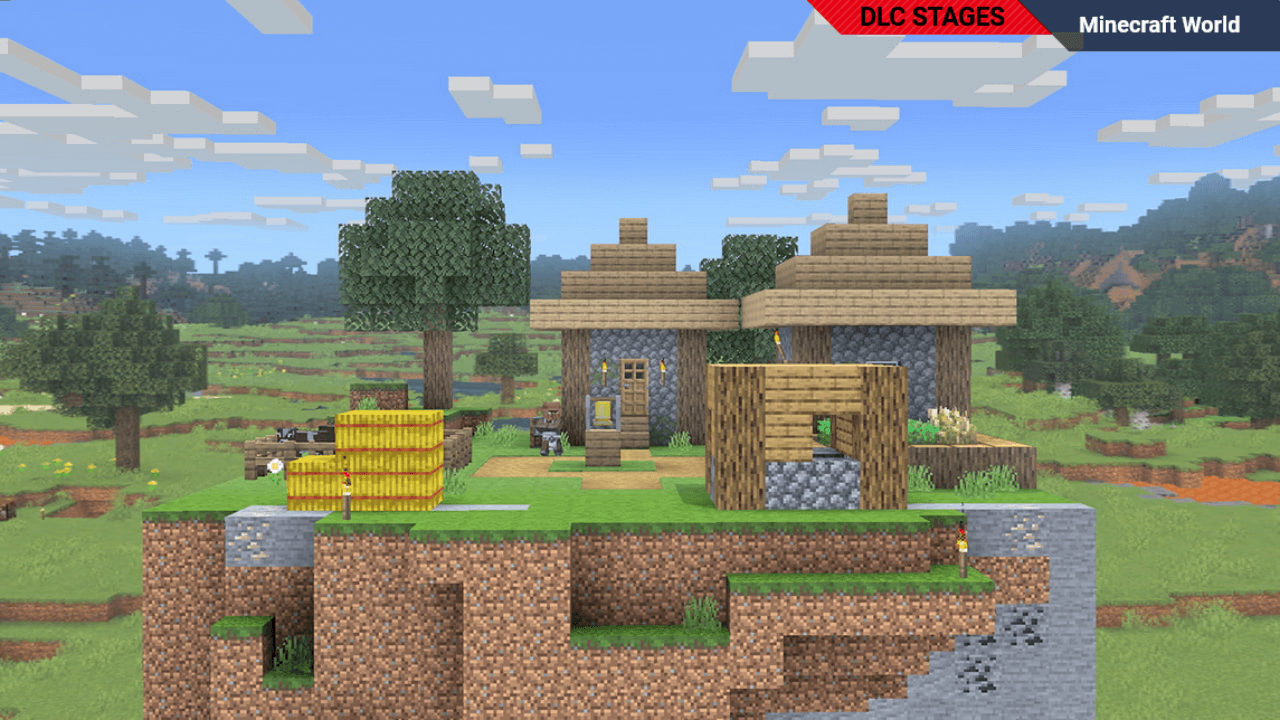 You Can Select a Biome for Minecraft World in SSBU