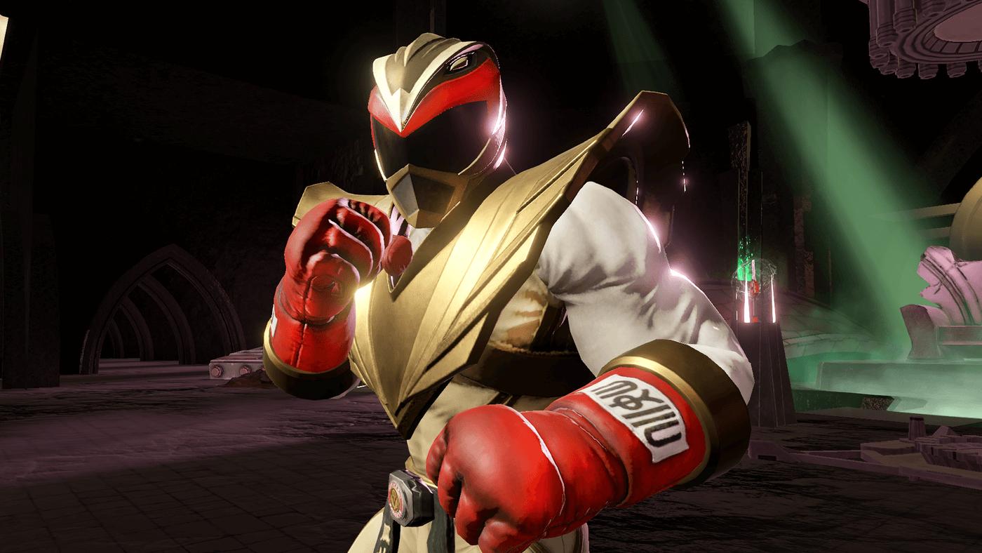 Ryu as a Power Ranger