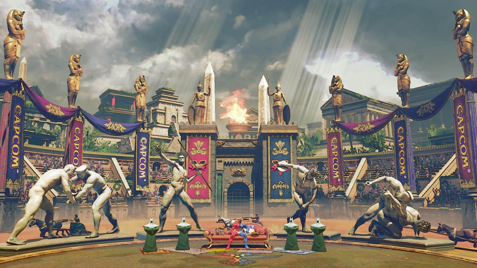 Capcom reveals Ring of Prosperity stage for Street Fighter 5