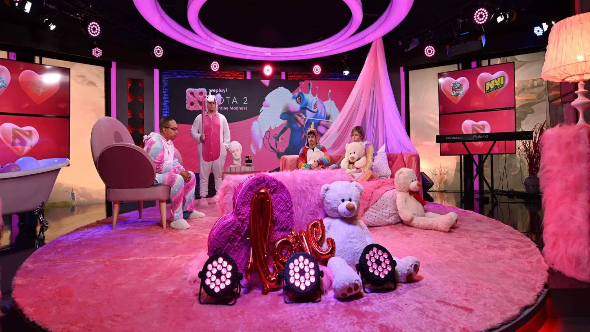 WePlay! Dota 2 Valentine Madness studio