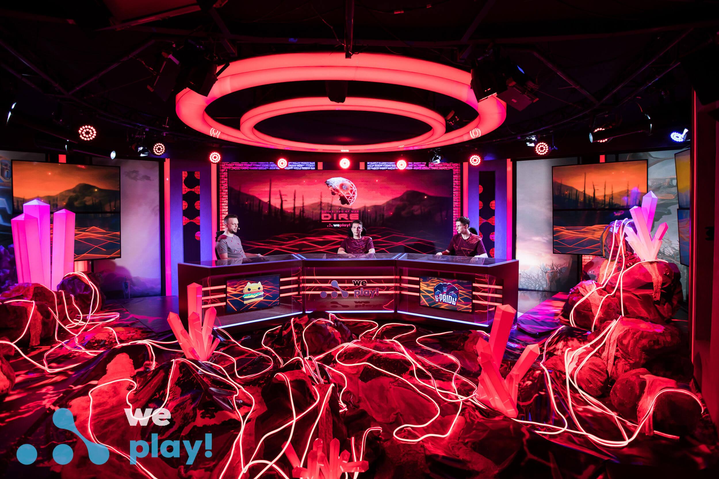 WePlay! Dota 2 Tug of War: Dire studio