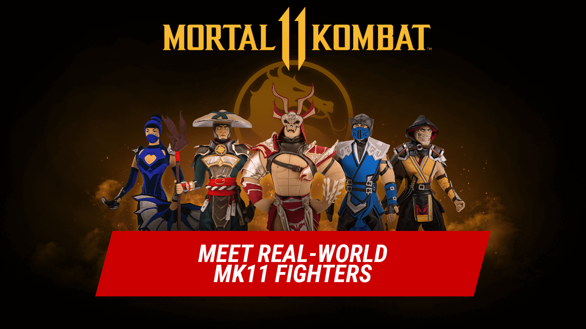 Legendary MK Characters Plush Figures  - for Collectors and Fans