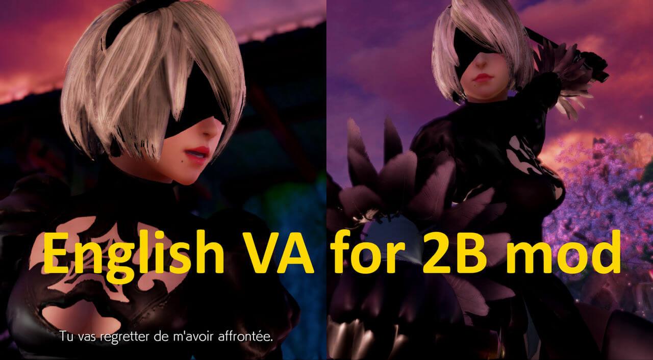 Tekken 7 mod NieR: Automata 2B's English voice