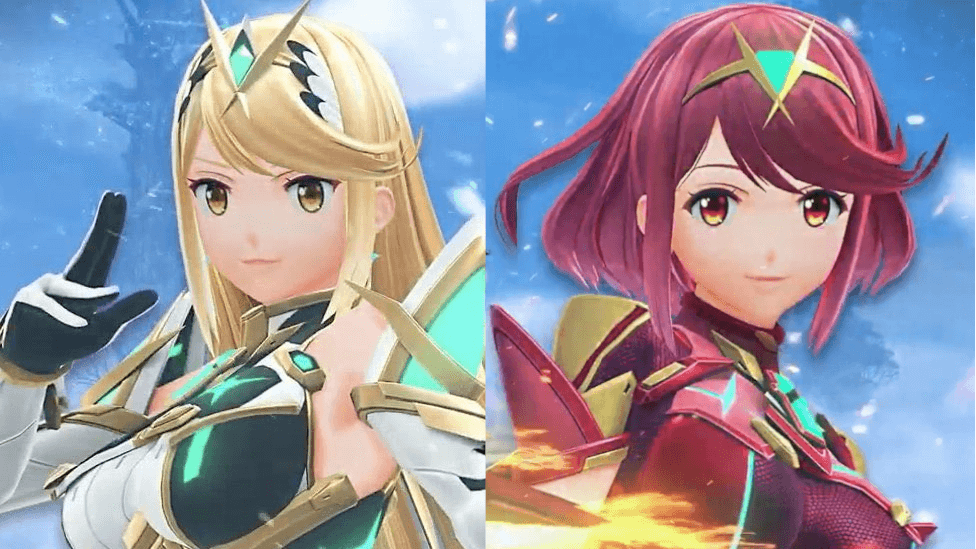 Pyra and Mythra From Xenoblade join SSBU in March