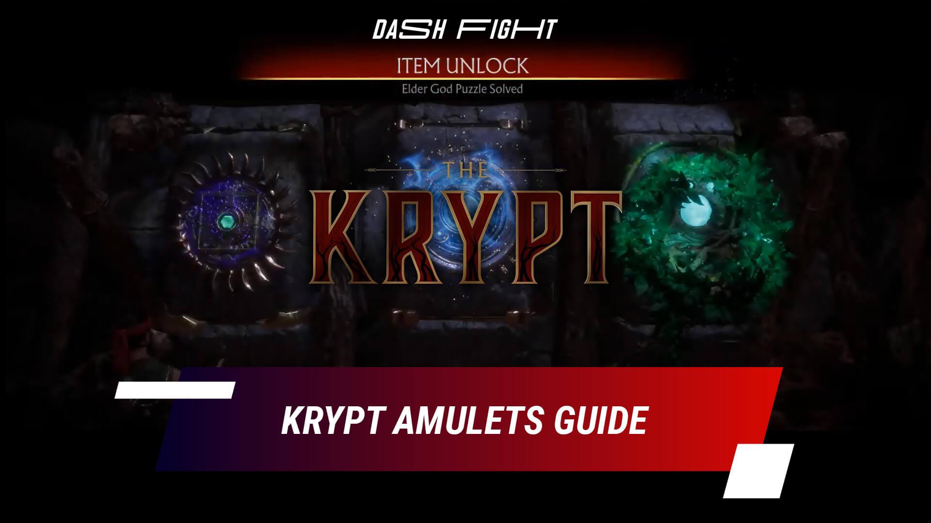 MK11 Krypt Amulets Guide