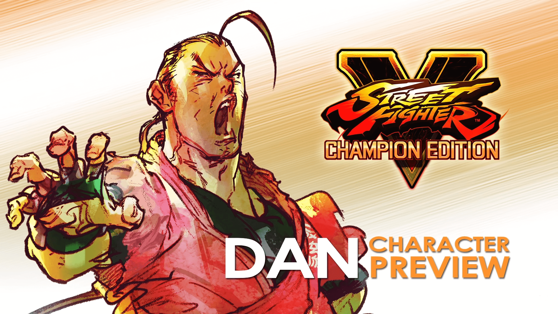 Dan Joins the Street Fighter 5 roster on February 2021