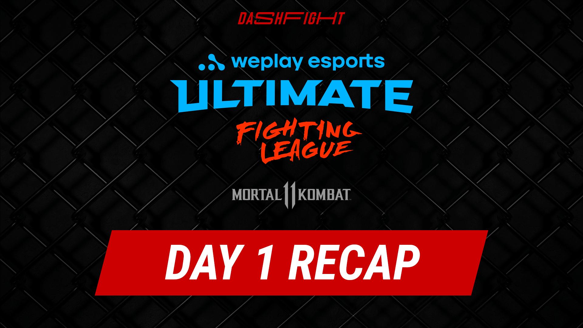 WUFL MK11 Day 1 Recap