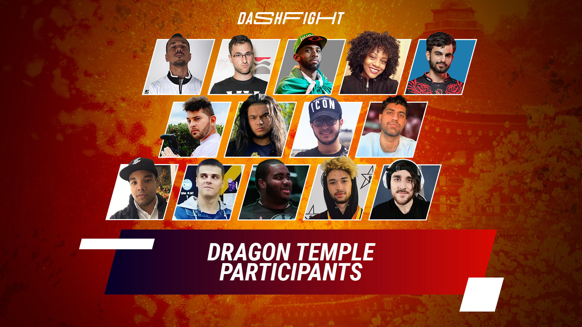 WePlay Dragon Temple Participants Announcement