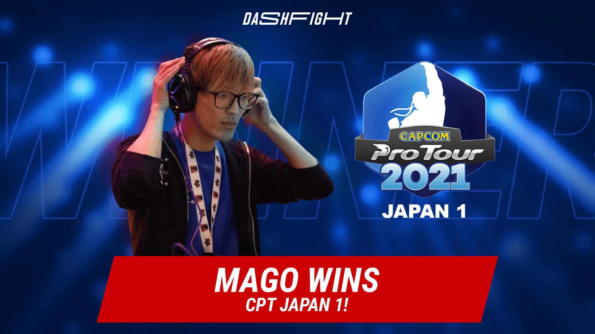 Powerful Start of Capcom Pro Tour 2021 - Japan 1