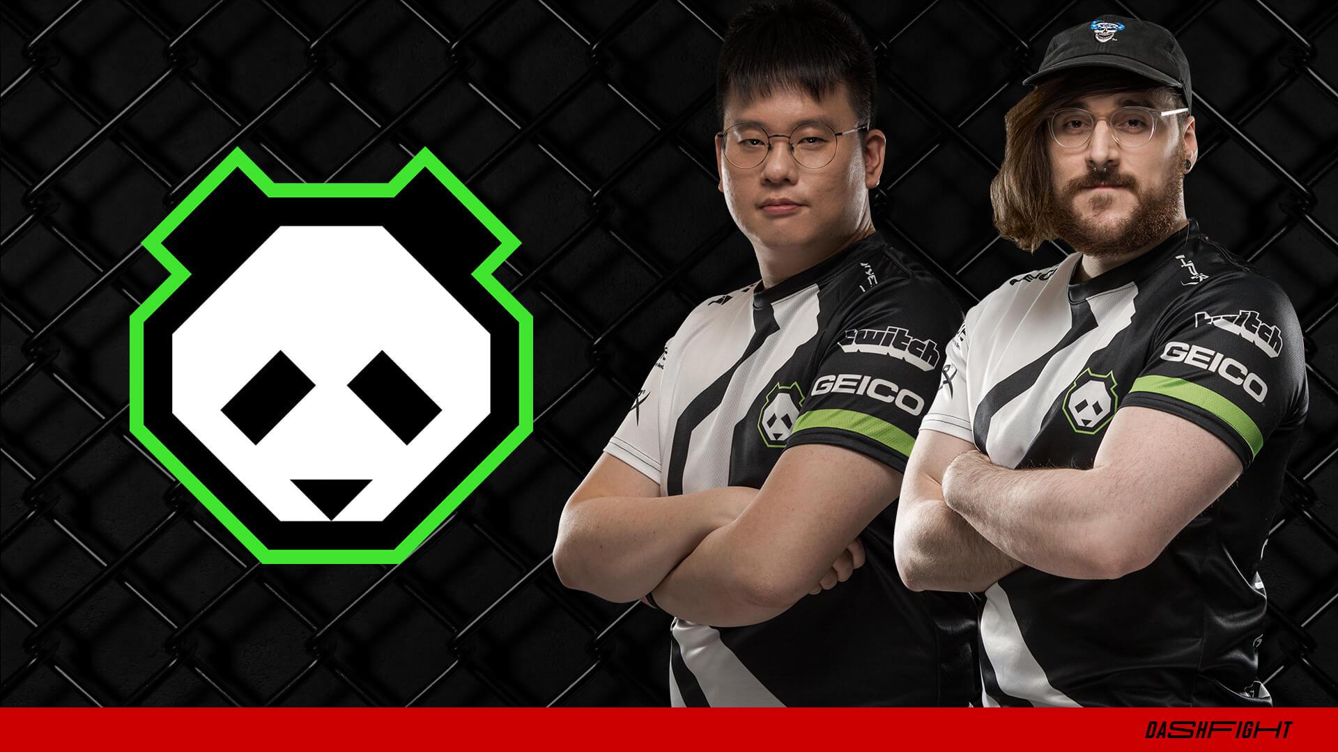 Panda Hayatei and Shen Chan