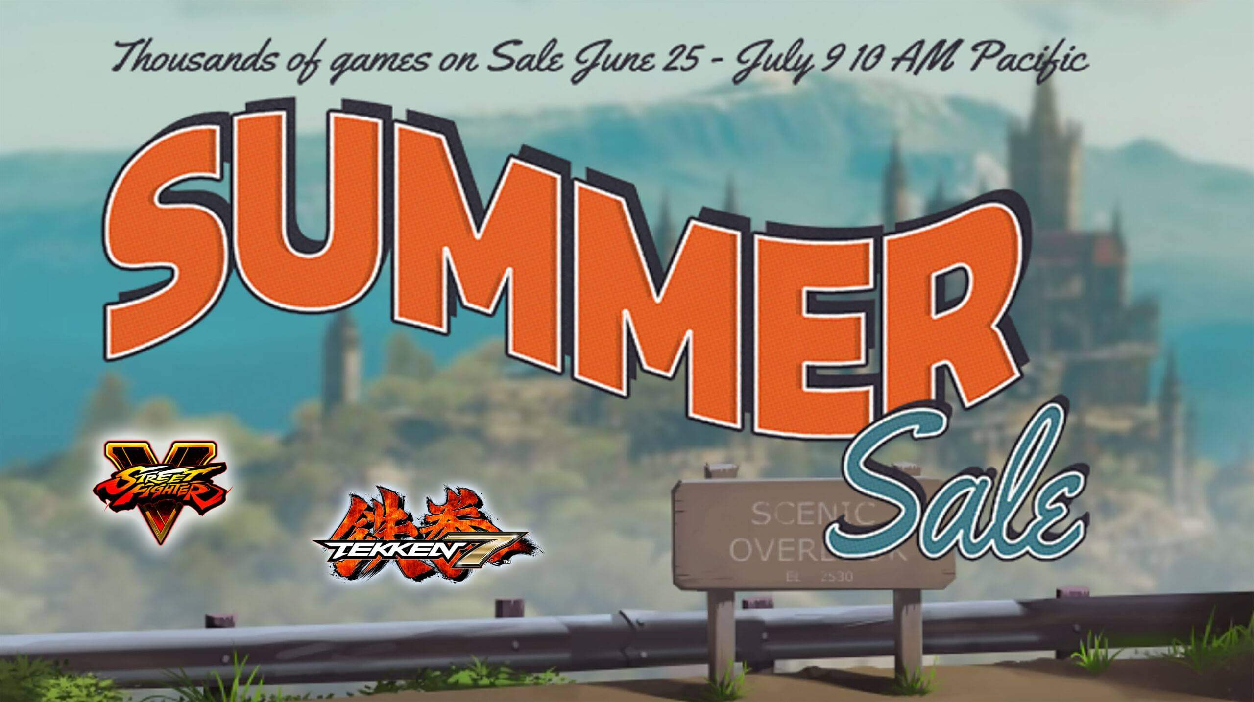 Street Fighter and Tekken are cheap on Steam Summer Sale