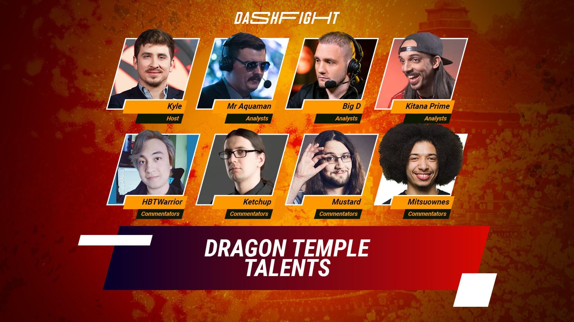 WePlay Dragon Temple - Talents Reveal