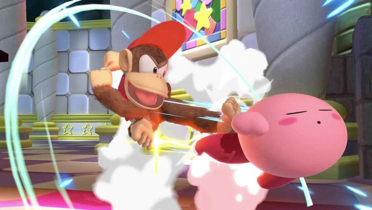 Diddy Kong v Kirby