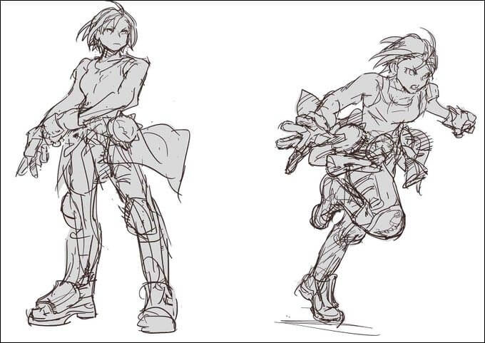 Capcom revealed Akira's new look