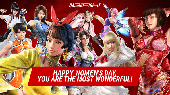 Happy Women's Day, Tekken-keepers